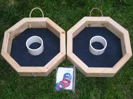 outdoor attractive lawn games with washer toss game and lawn for