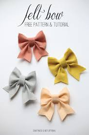 bow free pattern and tutorial