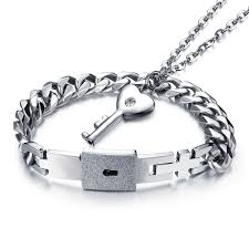 jewelry necklace love images Couple jewelry for lovers stainless steel women necklace men jpg