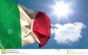 Italy National Flag Italy National Flag Waving Stock Video Illustration Of Digitally