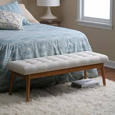 Small Upholstered Bedroom Bench Bedroom Benches Hayneedle