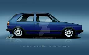 pasadena blue mk2 by axesent on deviantart vw golf pinterest