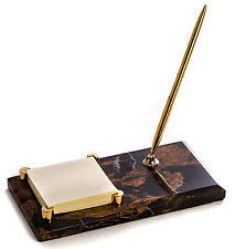 Desk Pen Stand Desk Pen Other Desktop Collectibles Ebay