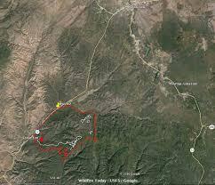 Map Of Prescott Arizona by Cedar Fire Near Show Low Arizona U2013 Wildfire Today