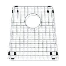 kitchen sink rack stainless steel staless d shaped stainless steel kitchen sink grid