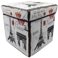 wallmark ottoman storage box chairs paris crown lazada ph
