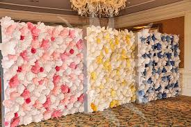 wedding backdrop paper flowers 5 ways to use paper flowers for weddings paper flower backdrop