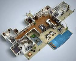 modern floor plans for homes 81 best 3d planı images on small houses 3d home
