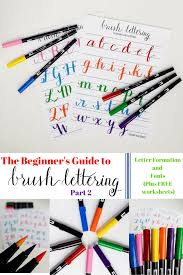 the beginner u0027s guide to brush lettering part ii