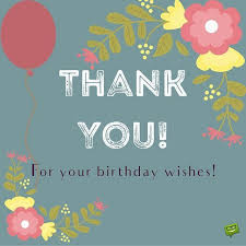 fancy thank you messages for birthday wishes collection best