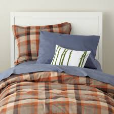 Boys Duvet Covers Twin Boys Bedding Camping Plaid Bedding Set Twin Brown Plaid Flannel