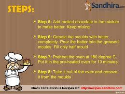 how to make a cake step by step lava cake recipe