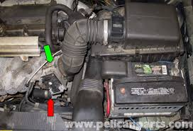 volvo v70 starter replacement 1998 2007 pelican parts diy