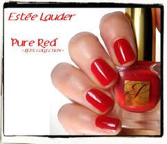estée lauder pure red nailderella