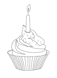 kidscolouringpages orgprint u0026 download cute cupcake coloring