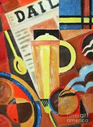 art deco painting at your service
