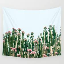 cactus wall tapestries society6