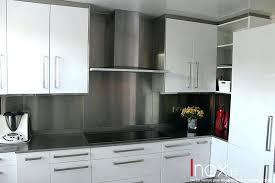 cuisine avec credence inox evier cuisine ikea cuisine credence inox evier de cuisine