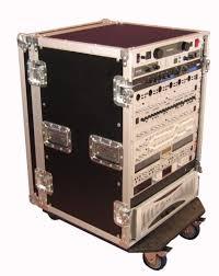 Audio Rack Case 16u Standard Road Rack Case W Casters G Tour 16u Cast Gator Cases
