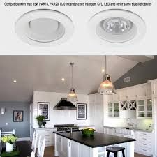 Led Light Bulbs For Recessed Cans by 4 Inch Trim With White Baffle Torchstar