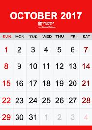 printable october 2017 calendar calendar table calendar table