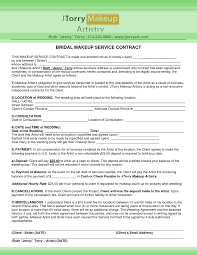 makeup contracts for weddings wedding makeup consultation template mugeek vidalondon