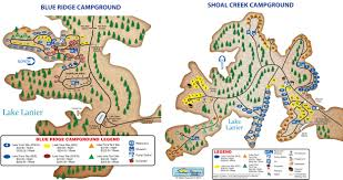 lake lanier map lake lanier islands cground amenities rv parks in