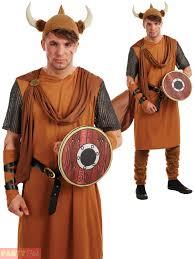 mens ladies viking costume medieval warrior fancy dress thor saxon