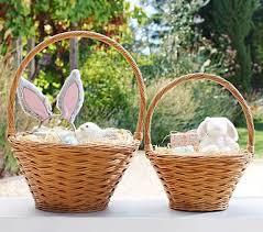 wicker easter baskets sabrina easter baskets pottery barn kids