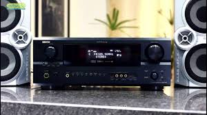 home theater avr receiver denon avr 2805 home theater 7 1 dts youtube