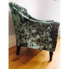 Green Velvet Armchair Velvet Armchairs Local Classifieds Buy And Sell In The Uk And