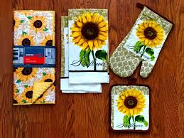 luxury sunflower kitchen rugs khetkrong