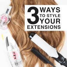hair extensions styles 3 ways to style your hair extensions hair extensions hair