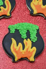 the witches cauldron halloween cookies recipe