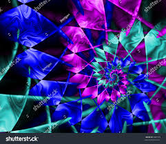 hues of purple abstract fractal spiral cool hues blue stock illustration 5007379