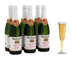 sparkling cider in bulk martinelli s 25 4 oz sparkling cider 6 pack