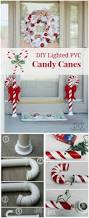 Candy Cane Outdoor Decorations 21 Cheap Diy Outdoor Christmas Decorations U2022 Diy Home Decor