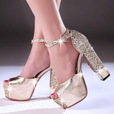 Wedding Shoes Extra Wide Width Latest Fashion Summer Wedding Shoes Bride Ultra High With