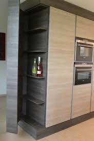 ecklösung küche grifflose inselküche dekton schreinerei holzdesign rapp geisingen