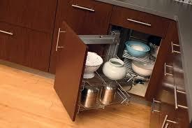 Corner Kitchen Cabinet Ideas Black Island Cylindra Spice Rack - Kitchen cabinet spice storage