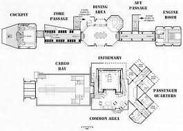 Set Design Floor Plan Layout Of A Firefly Serenity Set Design Ship Layout Misc