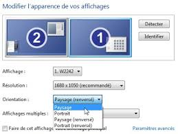 bureau windows à l envers écran à l envers windows 7 aidemoieninfo
