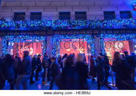 Christmas Window Decorations Manhattan by Shoppers View The Christmas Windows Of Saks Fifth Avenue In New
