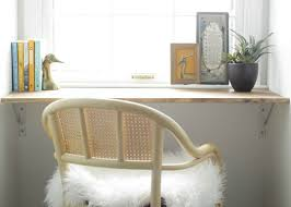 How To Build A Wall Mounted Desk Diy Wall Mounted Desk