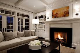 gas fireplace pictures kitchen transitional with black countertops