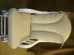 cj u0027s cozy cushions glider rocker