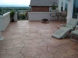2017 Stamped Concrete Patio Cost Stamped Concrete Patio Vs Pavers Garden Treasure Patio Patio