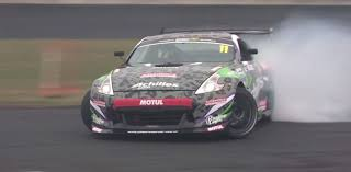 drift cars nissan 370z drift car with nascar dodge v8 demostrates turning