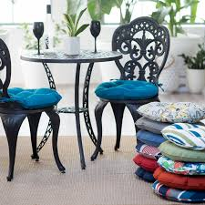 outdoor round bistro cushions u2014 porch and landscape ideas
