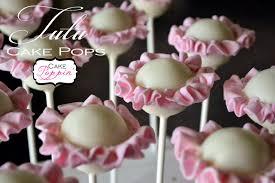 ballerina tutu cake pops from cake poppin pint sized baker